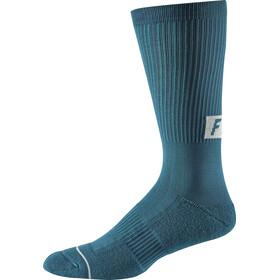 "Fox 8"" Trail Cushion Crew Socks Herren maui blue"